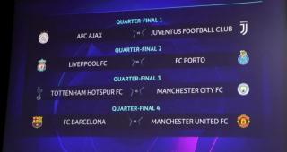 Champions League: Barcelona-Manchester United en cuartos de final ...